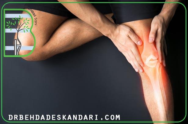 درد مفصل زانو در سنین مختلف