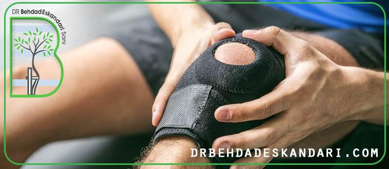 آسیبدیدگی زانو در حین ورزش